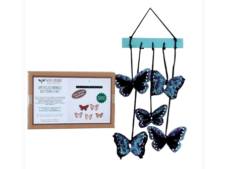UpCycled Sewing Kit -  Butterfly