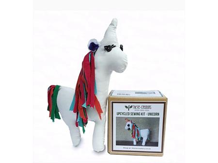 UpCycled Sewing Kit - Unicorn