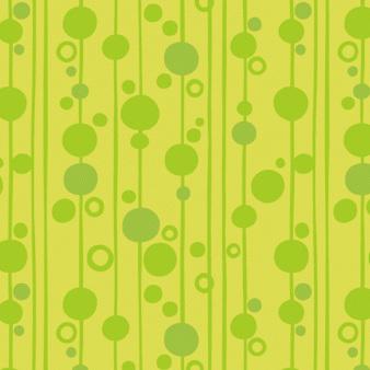Uptown -  Rainbow Bubbles Green