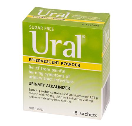 Ural Effervescent Power 8 Sachets