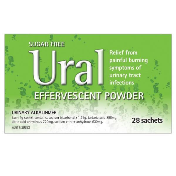 Ural Oral Powder Sachets 4Gg x 28