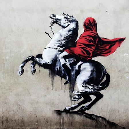 Urban Art Banksy Liberte Egalite Cable TV - 1000 Piece Jigsaw Puzzle