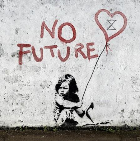Urban Art Banksy No Future - 1000 Piece Jigsaw Puzzle