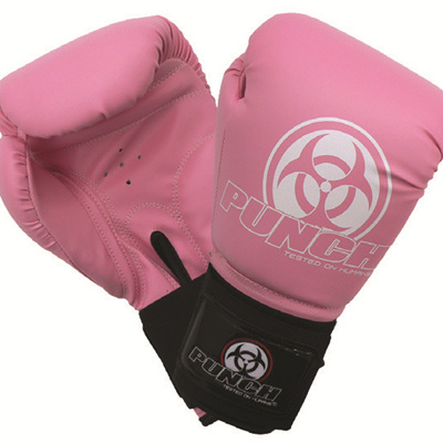URBAN BOXING GLOVES PINK