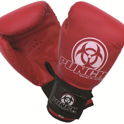 URBAN BOXING GLOVES RED