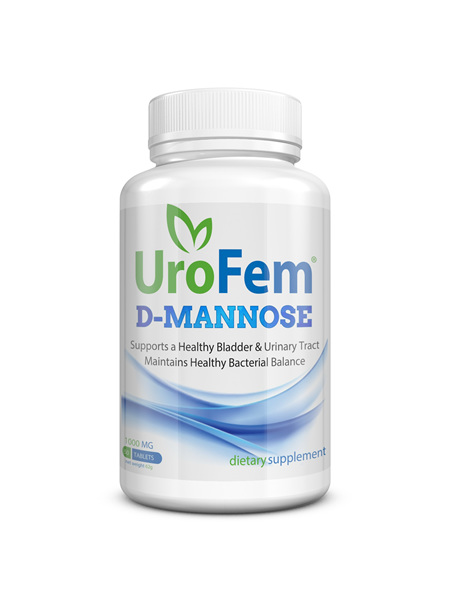 UroFem (1000mg d-mannose tablets)