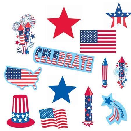 USA cutouts value pack