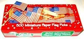 USA Flag Picks x 20