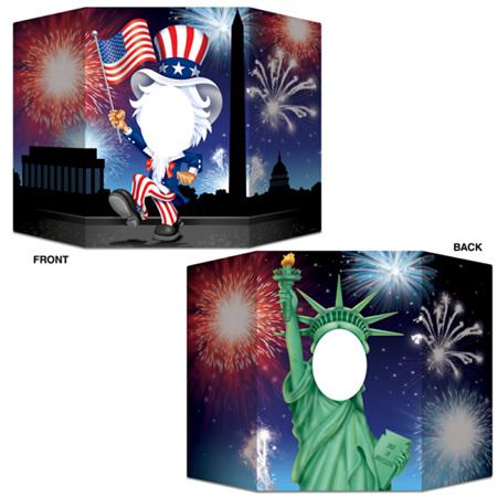 USA photo prop.