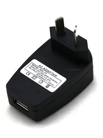 USB AC Power Supply Wall Adapter