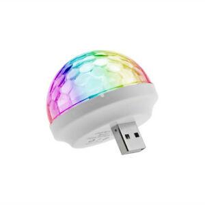 USB Mini Music Activated Disco Light