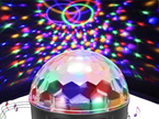 USB Sound Activated Large LED Disco Ball Disco Lights DJ Party Light Effect