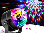 USB Sound activated LED Disco Ball Disco Lights DJ Party Light Effect with Remote Control