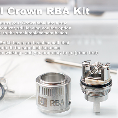 Uwell Crown RBA Kit