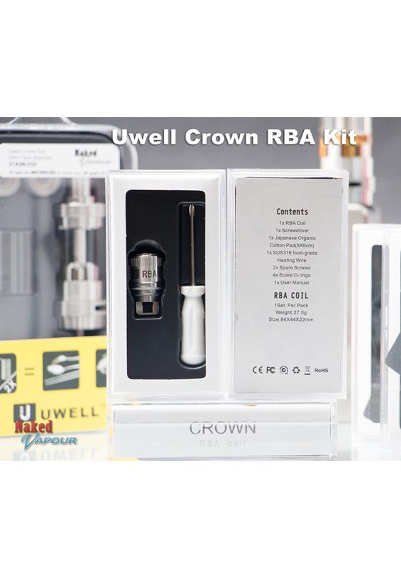 Uwell Crown RBA Kit
