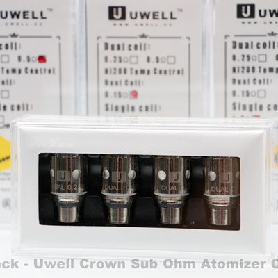 4 Pack - Ni200 - Uwell Crown Sub Ohm Atomizer Coils