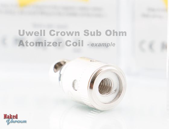 Uwell Crown Sub Ohm heads