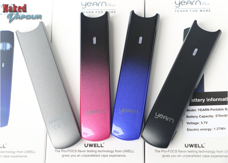 Uwell Yearn Battery @ Naked Vapour