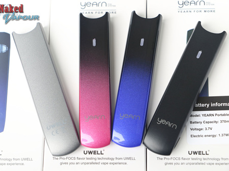 Uwell - Yearn Body (Battery Only)  - 370mAh