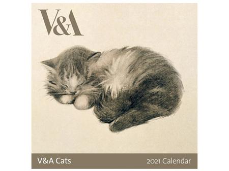 V&A Cats 2021 Calendar