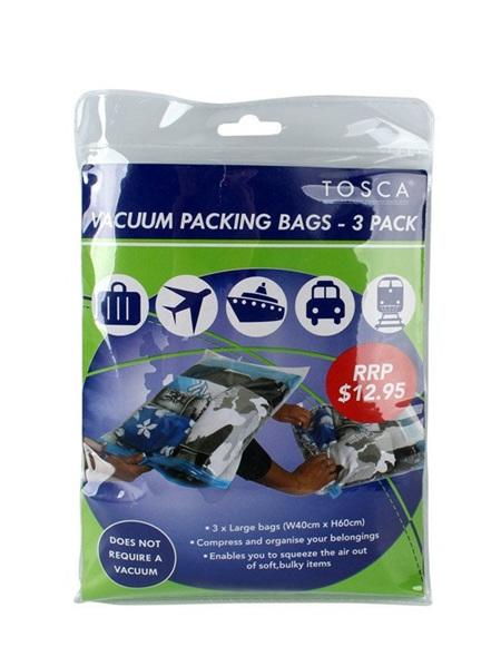 Vacuum Packing Bags 3 in Pack TCA015