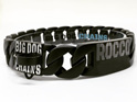 Vader Black Stainless Steel Custom Large Dog Collar by Big Dog Chains