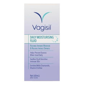 VAGISIL DAILY MOISTURSING FLUID 60ML