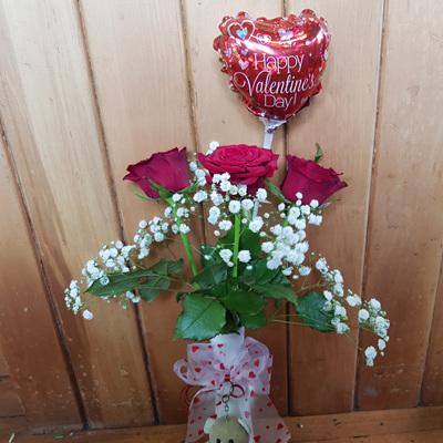 Valentines Vase