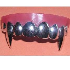 Vampire Fangs - silver