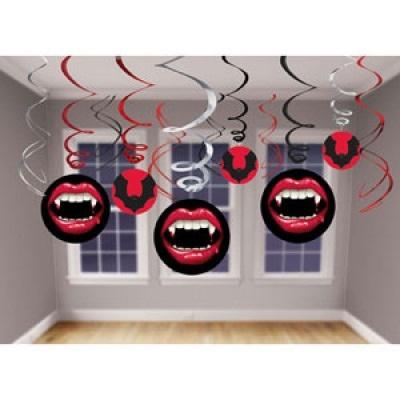 Vampire - Hanging Swirls
