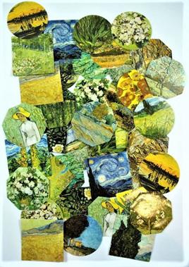 Van Gogh Art Stickers