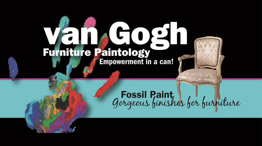 van Gogh Fossil Paint (chalk based)