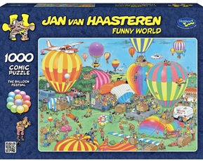 Van Haasteren Cartoon Puzzles