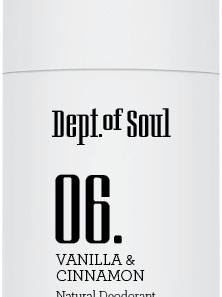 Vanilla & Cinnamon Deodorant Stick