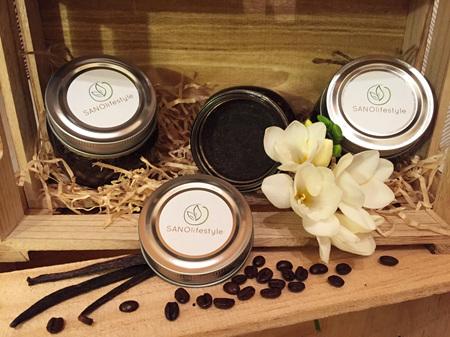vanilla coffee body scrub (180g)