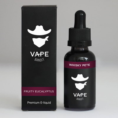 Vape Bandit - Whisky Pete - 120ml - e-Liquid