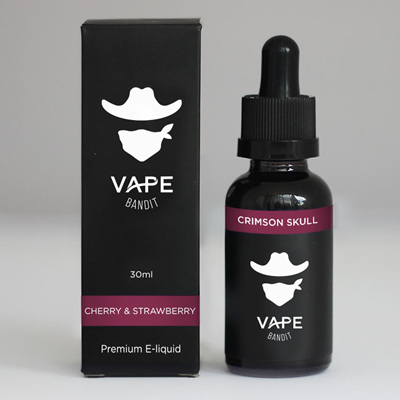 Vape Bandit - Crimson Skull  - 30ml - e-Liquid