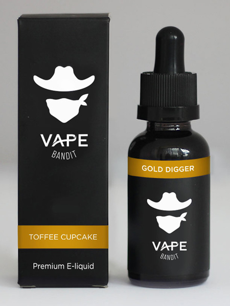 Vape Bandit - Gold Digger - 120ml - e-Liquid
