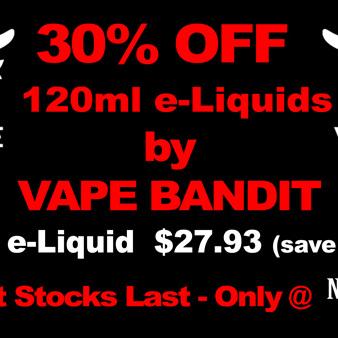 Vape Bandit - The Kid - 120ml - e-Liquid - 6mg only