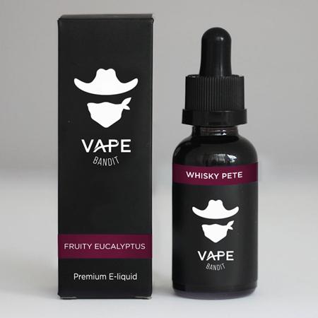 Vape Bandit - Whisky Pete - 120ml - e-Liquid