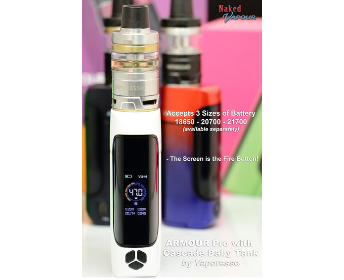 Vaporesso ARMOUR Pro 100W with Cascade Baby Tank - 5ml