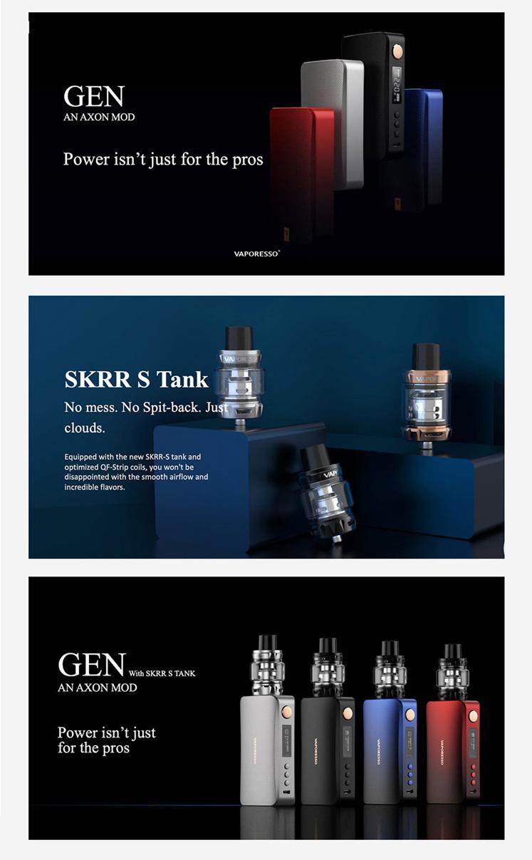 Vaporesso Gen Kit with SKRR-S 8ml Tank