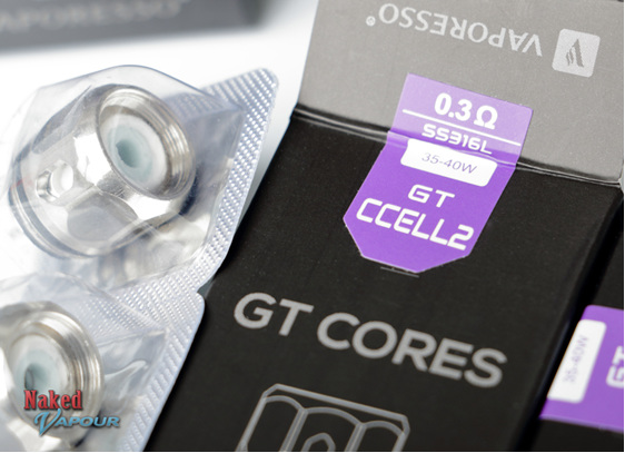 Vaporesso GT Cores - CCELL2