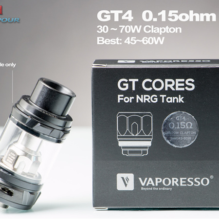 Vaporesso - GT4  - GT Cores Head