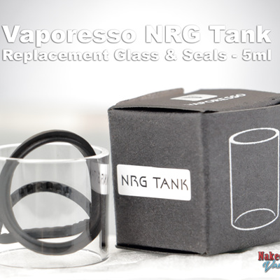 Vaporesso NRG Tank Replacement Glass & Seals - 5ml