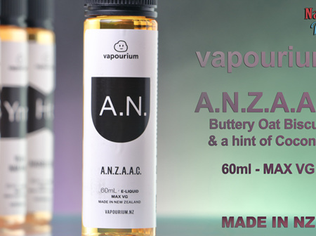 Vapourium - A.N.Z.A.A.C - 60ml - e-Liquid