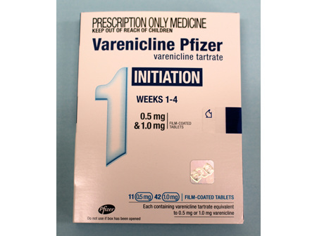 Varenicline Starter Pack  - no special authority