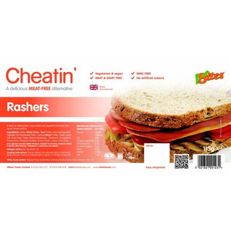 VBites Streaky Bacon Style Rashers