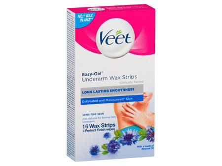 Veet Underarm Wax Strips