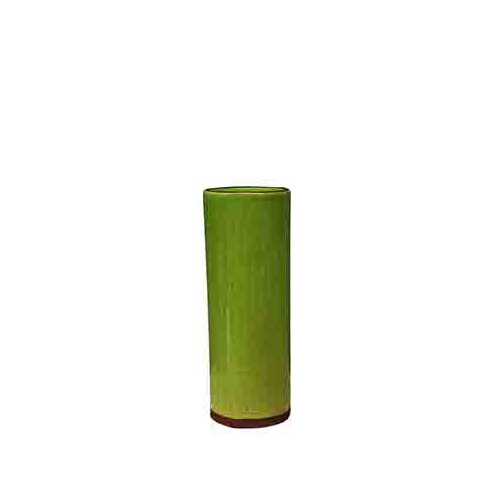 Vegas cylinder vase lime in small medium large